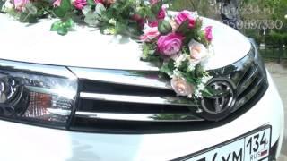 Свадебный кортеж Волгоград - машины на свадьбу, украшения на свадебные авто (прокат, аренда).