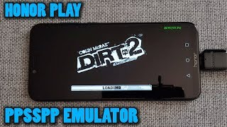 Honor Play - DiRT 2 - PPSSPP v1.8.0 - Test