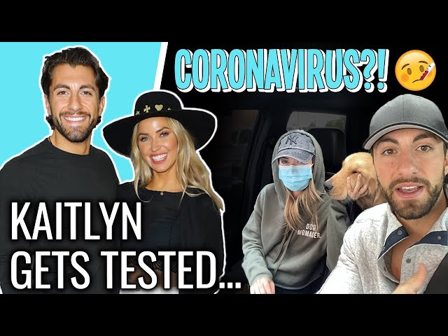 What Getting Tested For Coronavirus was REALLY Like | Kaitlyn Bristowe & Jason Tartick