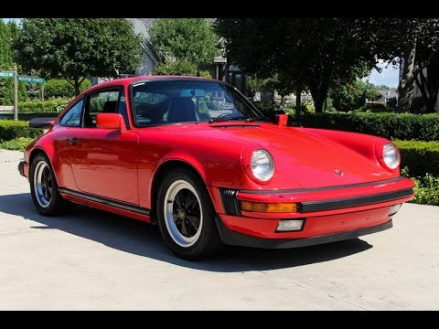 1986 Porsche 911 Carrera Coupe For Sale - YouTube