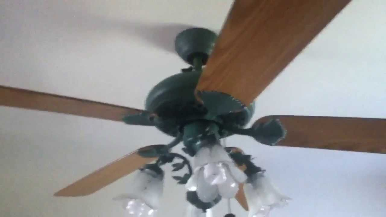 Harbor Breeze Verde Sausalito 52 Quot Ceiling Fan Youtube