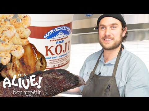 Brad Uses Moldy Rice (Koji) to Make Food Delicious | Its Alive | Bon Appétit