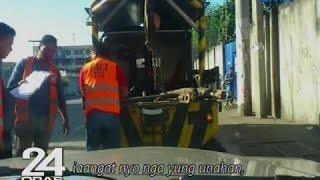 24 Oras: Motoristang sinita dahil sa illegal parking, hiningan ng towing crew ng P4,500