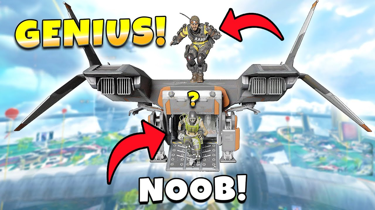 *NEW* DROPSHIP OUTPLAY IS ACTUALLY BROKEN! NEW Apex Legends Funny & Epic Moments #491