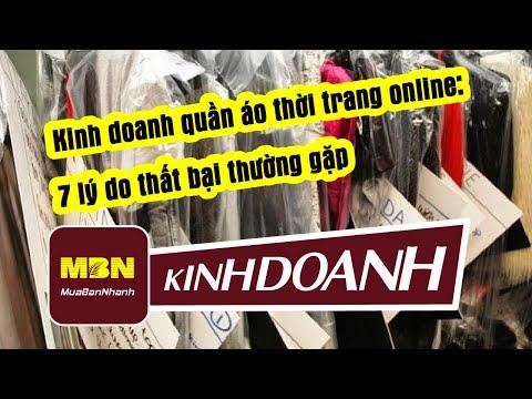 Kinh doanh quần áo thời trang online: 7 lý do thất bại thường gặp - MuaBanNhanh - Kinh Doanh Gì?
