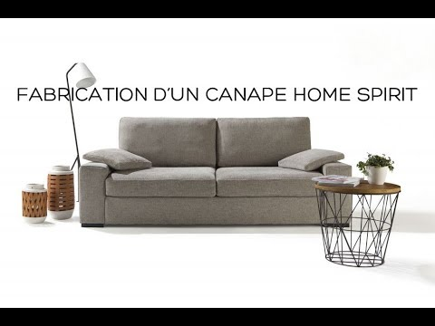 fabrication d 39 un canap home spirit youtube. Black Bedroom Furniture Sets. Home Design Ideas