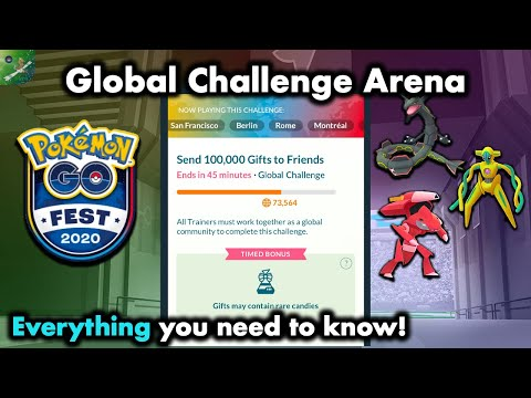 The Global Challenge Arena Everything you need to know // Pokemon Go Fest Day 1 Exclusive Feature