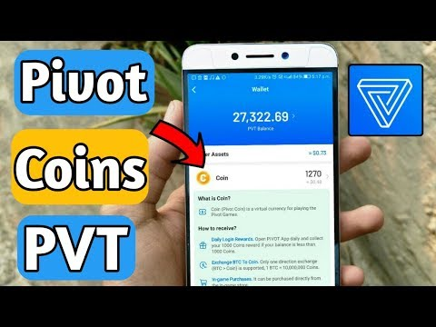 Pivot app new coins feature and PVT balance withdraw update | Why no PVT withdraw