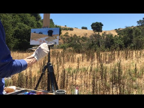 Plein Air Adventure #06 | Palo Alto Hills