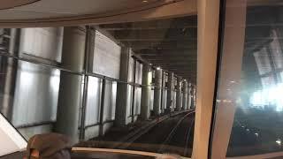 【小田急MH】電空笛を鳴らしてから吹鳴! GSE新宿停車MH