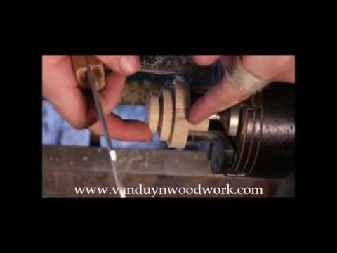 Wood Turning - Cutting Threads in Wood, part 2