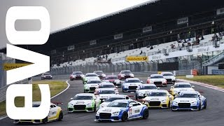 What's it like to race in the Audi TT Cup? | evo DIARIES
