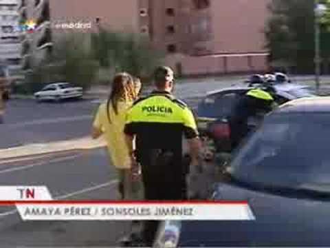 La policía evita botellones en Móstoles