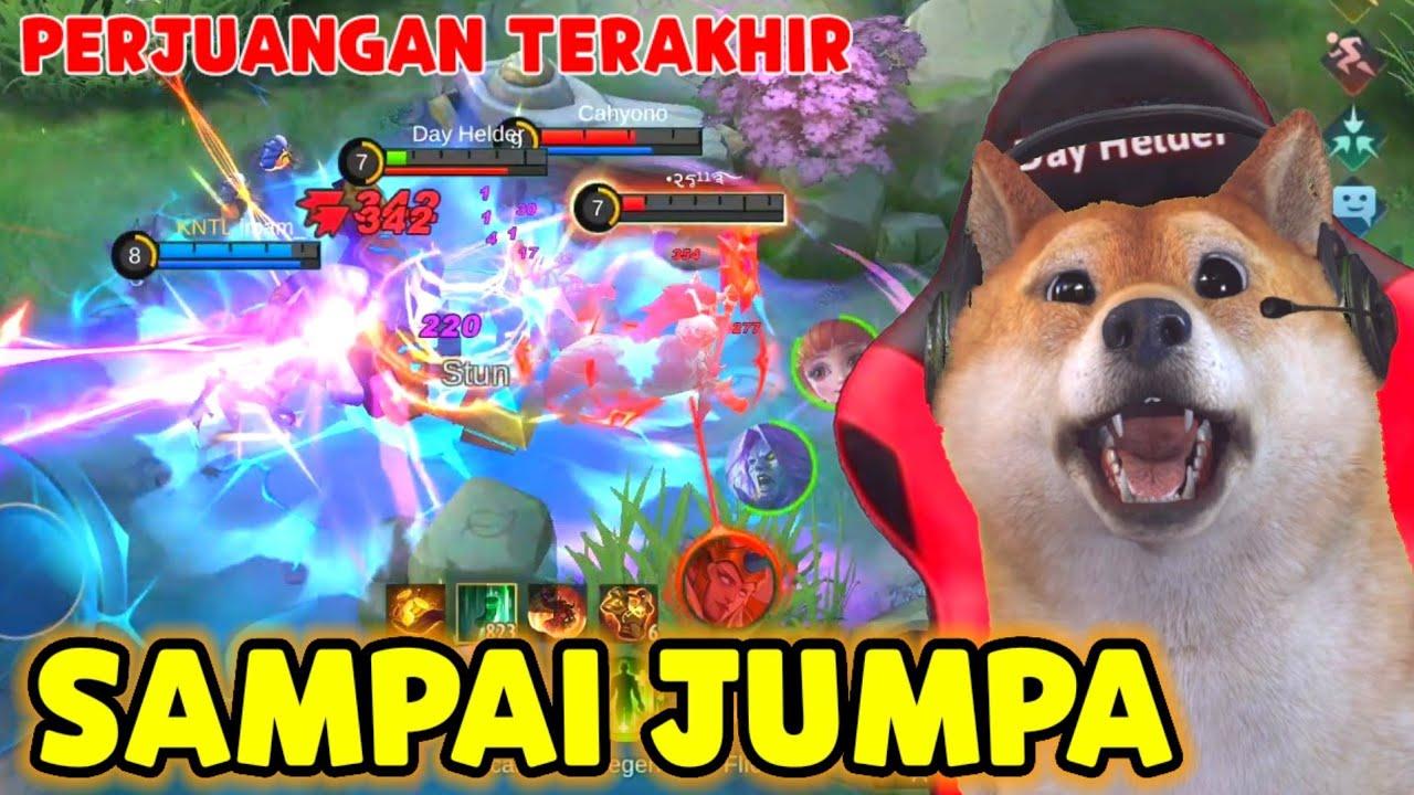 SAMPAI JUMPA GUYS ! INI MATCH TERAKHIR KITA - Mobile Legends