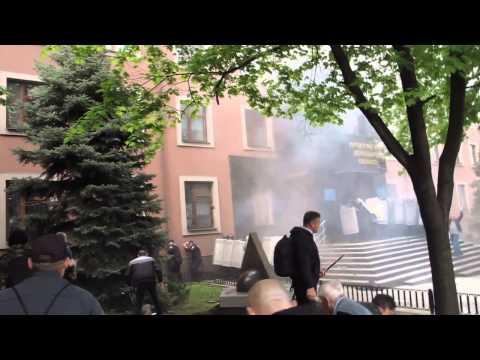 Donetsk : Prosecutor's office under attack