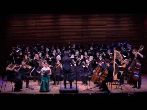 Performing Fern Hill w Dr. Jenny Wong, LA Master Chorale