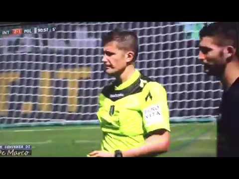 Inter - MILAN 2-2 rete Zapata e spiegazione recupero.