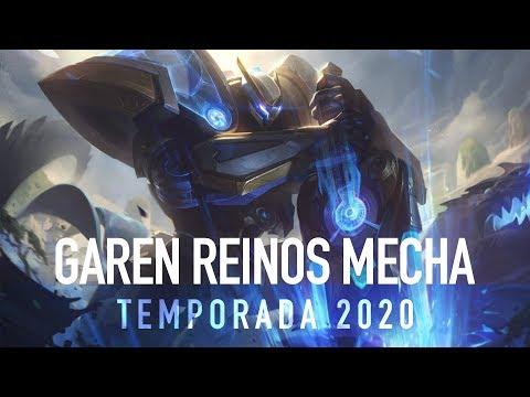 TEMPORADA 2020 | GAREN REINOS MECHA | El tontito siendo el tontito pero en Robot