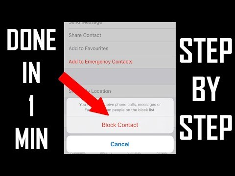 How to unblock or block someone or a random number on iPhone 11 or any iPhone on iOS 13. This works .