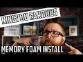 Kingyou Earbuds Memory Foam Install