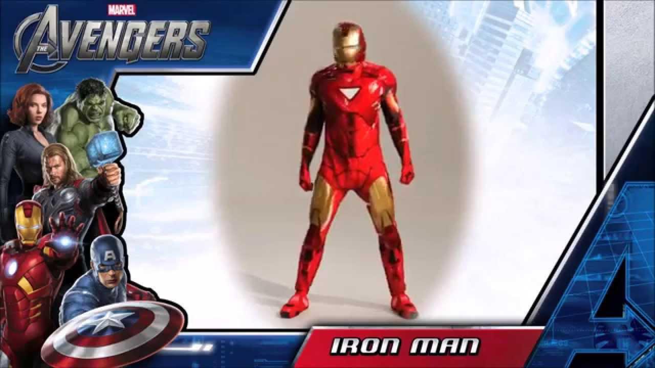 Déguisement Iron Man 2 Supreme - YouTube