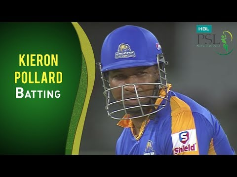 PSL 2017 Match 18: Karachi Kings vs Lahore Qalandars - Kieron Pollard Batting thumbnail