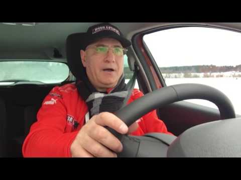 Renault Winter Driving School in Karelia