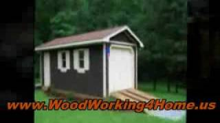 Build A Beautiful Diy Shed With Wood - Free Shed Plans And Woodworking Patterns