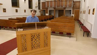 La Folia improvisations, Performing: Dénes Harmath on the newest Vagi Continuo Organ built in 2019
