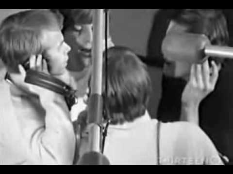 The Beach Boys   Good Vibrations   Rare Studio Recording Film Footage
