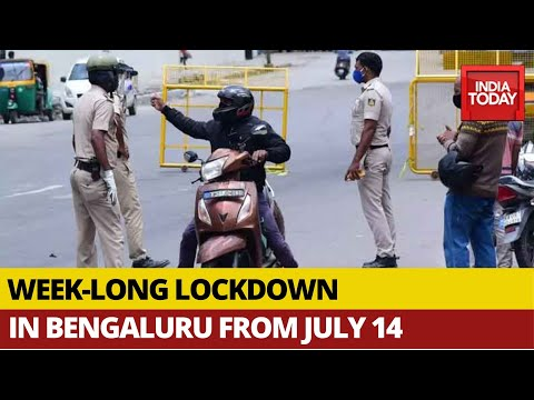 Coronavirus: Karnataka Govt Announces Week-long lockdown In Bengaluru From July 14