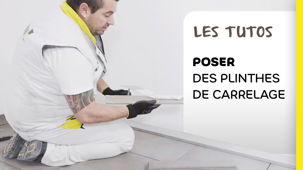 Comment poser vos plinthes de carrelage les tutos Pose carrelage sol