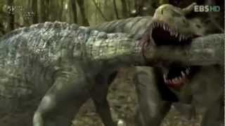 Repeat youtube video EPIC DINOSAUR BATTLE- LOTS OF BLOOD AND GORE