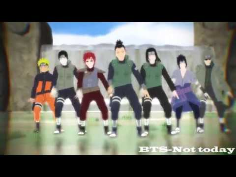 [MMD x naruto] BTS-Not today
