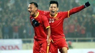 Nguyễn Trọng Hoàng goal (vs Hong Kong) - 05/03/2014