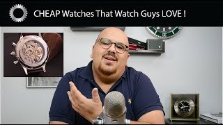 5 CHEAP Watches That Get Respect From Watch Collectors !