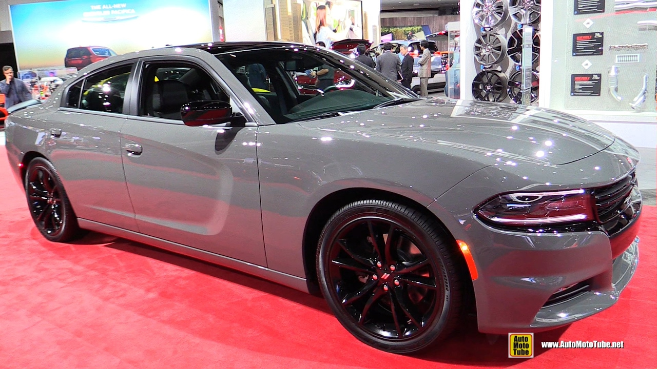 2017 Dodge Charger Exterior And Interior Walkaround 2016 La Auto Show Youtube