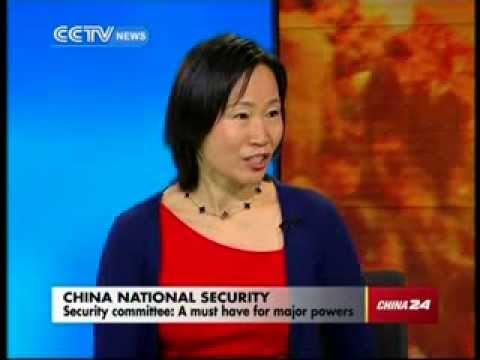 Haiyan Wang on China's National Security Committee