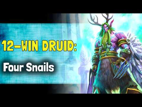 Hearthstone Arena KFT - 12 Win Druid: Four Snails
