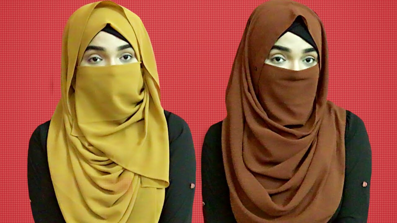 Easy Niqab Style For Summer No Layer Niqab Style Mutahhara Youtube