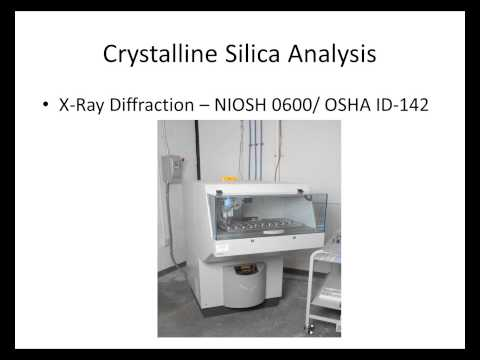 Introduction to the Sampling and Analysis of Silica From 2/26/14