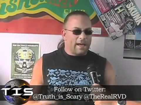 Rob Van Dam  talks New World Order, 911,JFK, Weed & more w/TRUTHISSCARY.com