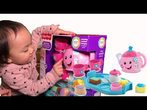 Tea Set Toys Sweet Manners By Fisher Price Laugh & Learn Tea Party Best Toys For Toddlers