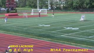 Acton Boxborough Varsity Boys Lacrosse at BC High June 2011