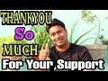 Special Thanks To | My Smart Support, Aayiye Sikhte Hai, Billi 4 You, SidTalk, Itech, DKtechhindi,