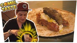 Das geilste Frühstück der Welt - to go - ENGLISH BREAKFAST BURRITO 🥓🍳🌯 Combi & Taste #CaT