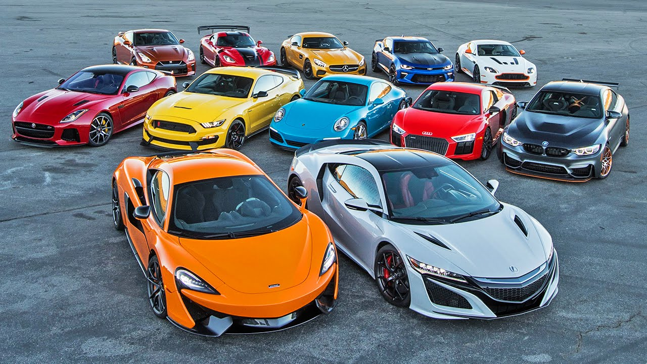 Motor Trend's 2016 Best Driver's Car Week!