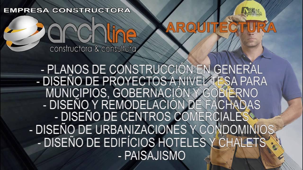Empresa constructora archline srl construcci n de for Empresas de construccion