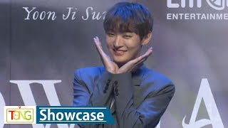 (Eng sub) [Full ver.] Yoon Ji Sung(윤지성) 'Aside' Debut Showcase (In the Rain) [통통TV]