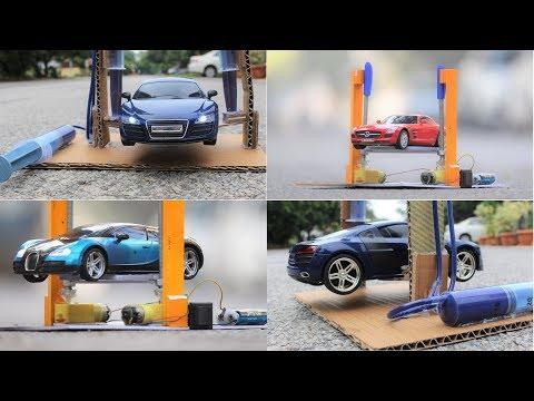 2 Amazing Ideas - Hydraulic with DC motor